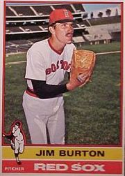 1976 Topps Baseball Cards      471     Jim Burton