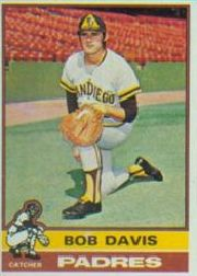 1976 Topps Baseball Cards      472     Bob Davis RC