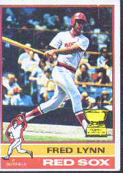 1976 Topps Baseball Cards      050      Fred Lynn