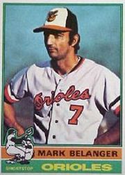 1976 Topps Baseball Cards      505     Mark Belanger