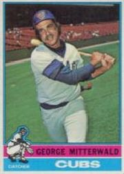 1976 Topps Baseball Cards      506     George Mitterwald