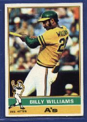 1976 Topps Baseball Cards      525     Billy Williams