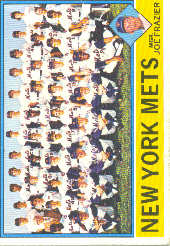 1976 Topps Baseball Cards      531     New York Mets CL/Joe Frazier