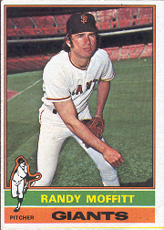 1976 Topps Baseball Cards      553     Randy Moffitt