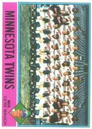 1976 Topps Baseball Cards      556     Minnesota Twins CL/Gene Mauch
