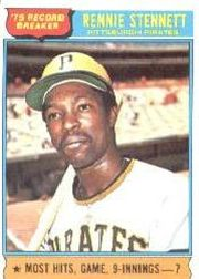 1976 Topps Baseball Cards      006       Rennie Stennett RB