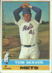 1976 Topps Baseball Cards      600     Tom Seaver