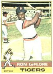 1976 Topps Baseball Cards      061      Ron LeFlore