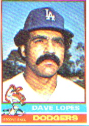 1976 Topps Baseball Cards      660     Davey Lopes