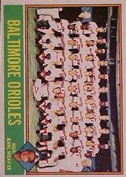 1976 Topps Baseball Cards      073      Baltimore Orioles CL/Earl Weaver