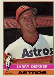1976 Topps Baseball Cards      075      Larry Dierker