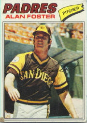 1977 Topps Baseball Cards      108     Alan Foster