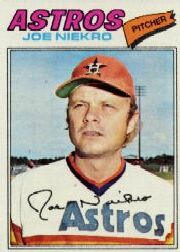1977 Topps Baseball Cards      116     Joe Niekro