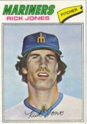 1977 Topps Baseball Cards      118     Rick Jones RC