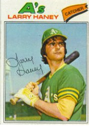 1977 Topps Baseball Cards      012      Larry Haney