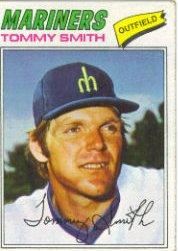 1977 Topps Baseball Cards      014      Tommy Smith