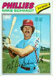 1977 Topps Baseball Cards      140     Mike Schmidt