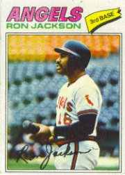 1977 Topps Baseball Cards      153     Ron Jackson RC