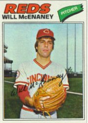 1977 Topps Baseball Cards      160     Will McEnaney
