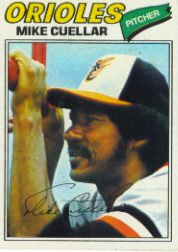1977 Topps Baseball Cards      162     Mike Cuellar
