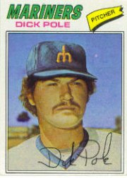 1977 Topps Baseball Cards      187     Dick Pole