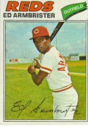 1977 Topps Baseball Cards      203     Ed Armbrister