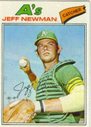 1977 Topps Baseball Cards      204     Jeff Newman RC