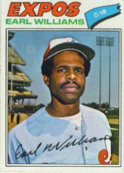 1977 Topps Baseball Cards      223     Earl Williams