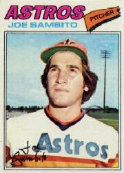 1977 Topps Baseball Cards      227     Joe Sambito RC