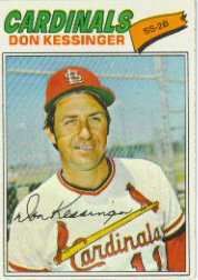 1977 Topps Baseball Cards      229     Don Kessinger