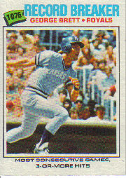1977 Topps Baseball Cards      231     George Brett RB