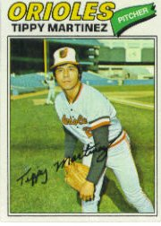 1977 Topps Baseball Cards      238     Tippy Martinez