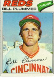 1977 Topps Baseball Cards      239     Bill Plummer