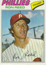 1977 Topps Baseball Cards      243     Ron Reed