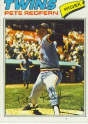 1977 Topps Baseball Cards      249     Pete Redfern RC