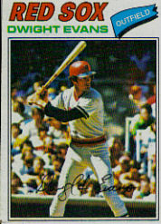 1977 Topps Baseball Cards      025      Dwight Evans