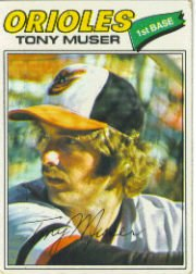 1977 Topps Baseball Cards      251     Tony Muser