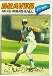 1977 Topps Baseball Cards      263     Mike Marshall