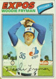 1977 Topps Baseball Cards      028      Woodie Fryman