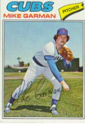 1977 Topps Baseball Cards      302     Mike Garman