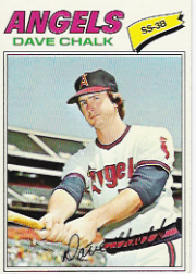 1977 Topps Baseball Cards      315     Dave Chalk