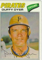 1977 Topps Baseball Cards      318     Duffy Dyer
