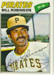 1977 Topps Baseball Cards      335     Bill Robinson