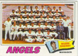 1977 Topps Baseball Cards      034      California Angels CL/Norm Sherry