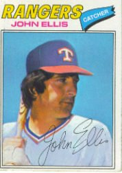 1977 Topps Baseball Cards      036      John Ellis
