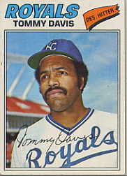 1977 Topps Baseball Cards      362     Tommy Davis