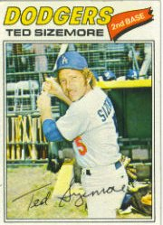 1977 Topps Baseball Cards      366     Ted Sizemore