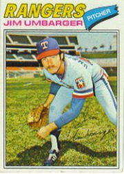 1977 Topps Baseball Cards      378     Jim Umbarger