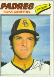 1977 Topps Baseball Cards      039      Tom Griffin