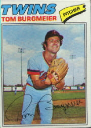 1977 Topps Baseball Cards      398     Tom Burgmeier